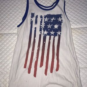 Kids American Flag Tank top